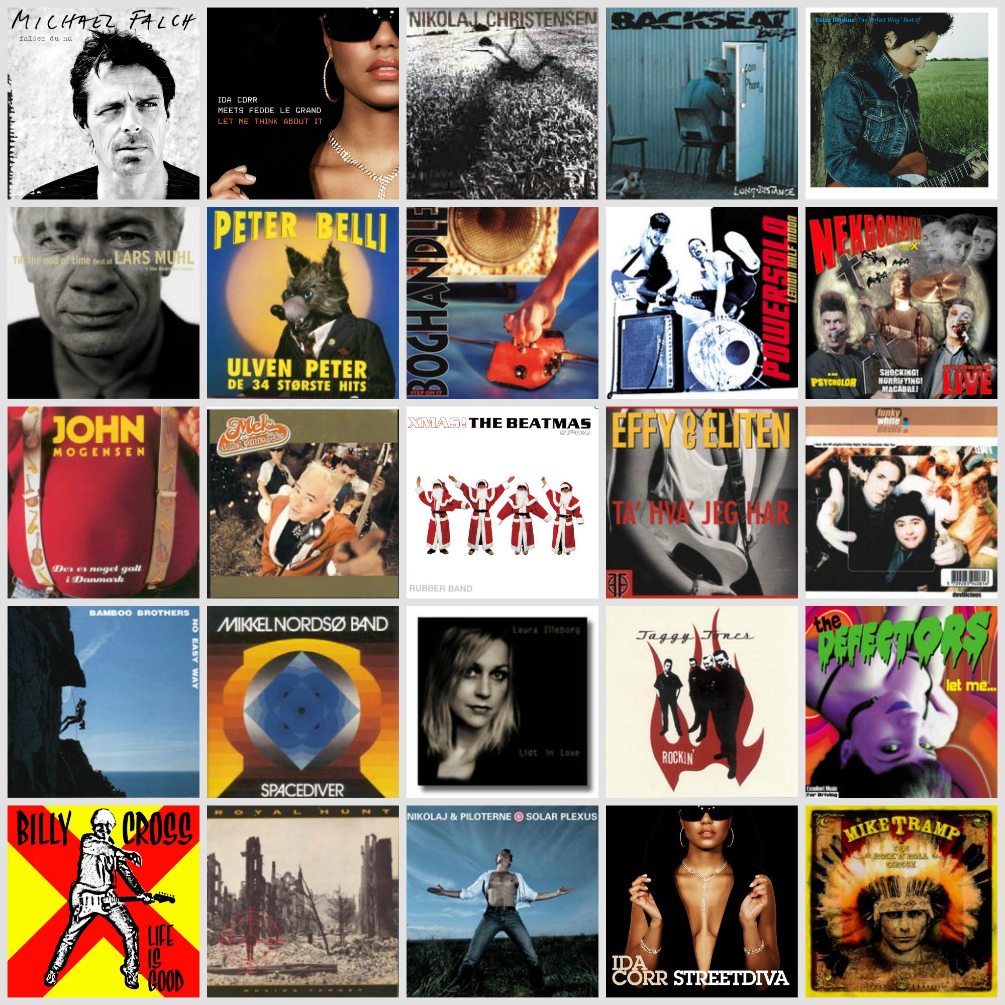 Album collage DK