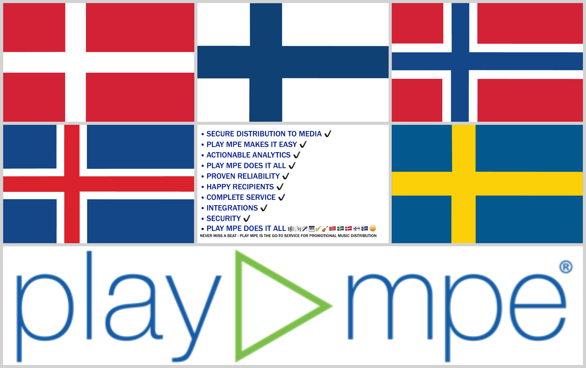 Play MPE Distribution in Scandinavia | Music Quay
